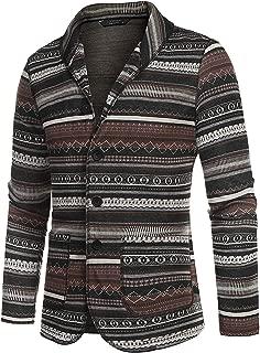 Men's Casual Blazer Jacket Slim Fit Vintage Multi-Color Suit Sport Coat Lightweight Cotton Jackets