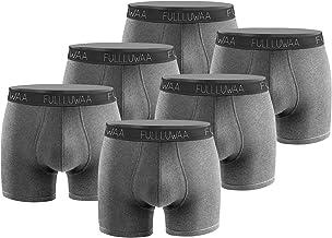Fullluwaa Boxershorts heren 6-pack retroshorts Trunks Men ondergoed onderbroeken mannen katoen S, M, L, XL, 2XL, 3XL
