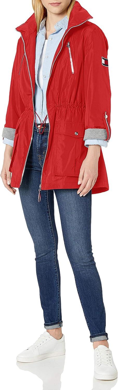 Tommy Hilfiger Women's Roll Tab Anorak Jacket