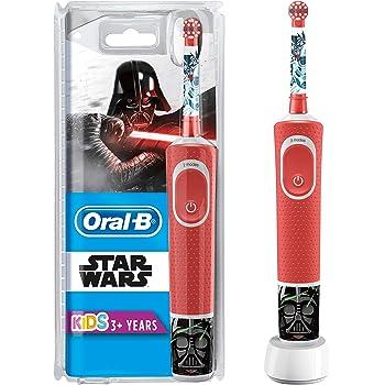Oral-B Kids Spazzolino Elettrico Ricaricabile 1 Manico con Personaggi di Star Wars, per età da 3 anni