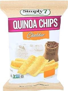 Simply 7 Chip Quinoa Cheddar, 3.5 oz