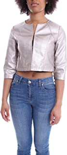 Luxury Fashion | H2o Italia Women ELVINARGENTO Silver Polyester Jacket | Spring-summer 20