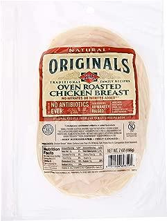 Dietz & Watson Originals Pre-Sliced No Antibiotics Ever Oven Roasted Chicken Breast, 7 oz
