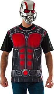 Rubie's Costume Co Men's Ant-Man T-Shirt and Mask