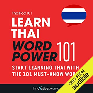 Learn Thai - Word Power 101: Absolute Beginner Thai #1