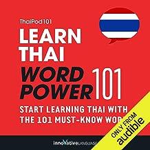 Learn Thai - Word Power 101: Absolute Beginner Thai #1
