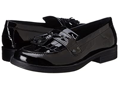 Geox Kids Jr Agata Oxford (Big Kid) (Black) Girl