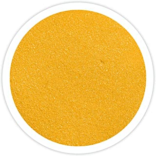 Sandsational Sunflower Unity Sand~1.5 lbs (22 oz), Yellow Colored Sand for Weddings, Vase Filler, Home Décor, Craft Sand