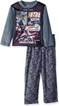 Minecraft Boys' Gamer 2-piece Fleece Pajama Set