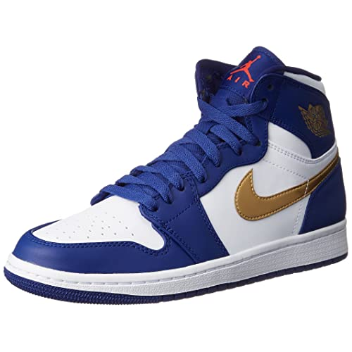 5bcad60439f2f5 Jordan Nike Men s Air 1 Retro High Basketball Shoe