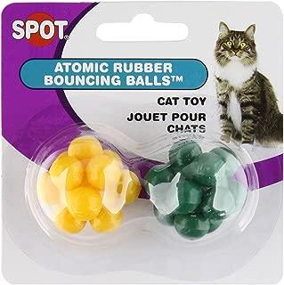 SPOT Atomic Bouncing Ball Cat Toy 2pcs