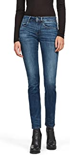 G-STAR RAW 3301 Desconstructed Mid Waist Straight Jeans para Mujer