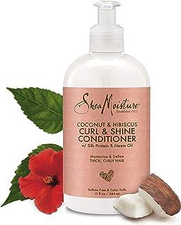 SheaMoisture 13 oz Coconut & Hibiscus Curl & Shine Conditioner