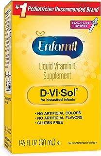 Enfamil Vitamins D-Vi-Sol 维生素D补充滴剂 50ml