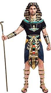 Egyptian King Pharaoh Deluxe Halloween Costume for Men Role-Playing Cosplay