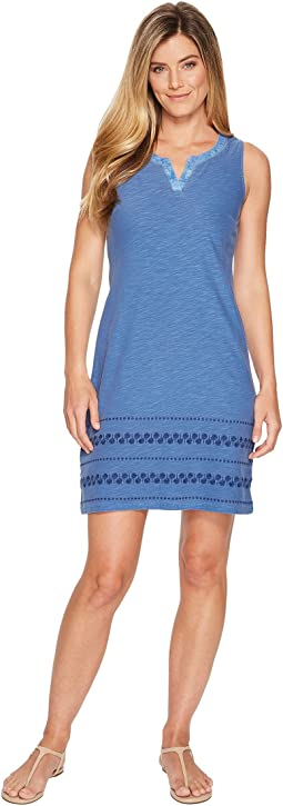 Tommy Bahama - Arden Embroidered Sleeveless Short Dress