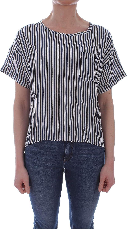 Ibluees Women's 71112891blueE bluee Viscose Shirt