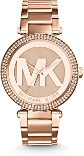 Michael Kors Parker Watch for Women - Analog Stainless Steel Band - MK5865