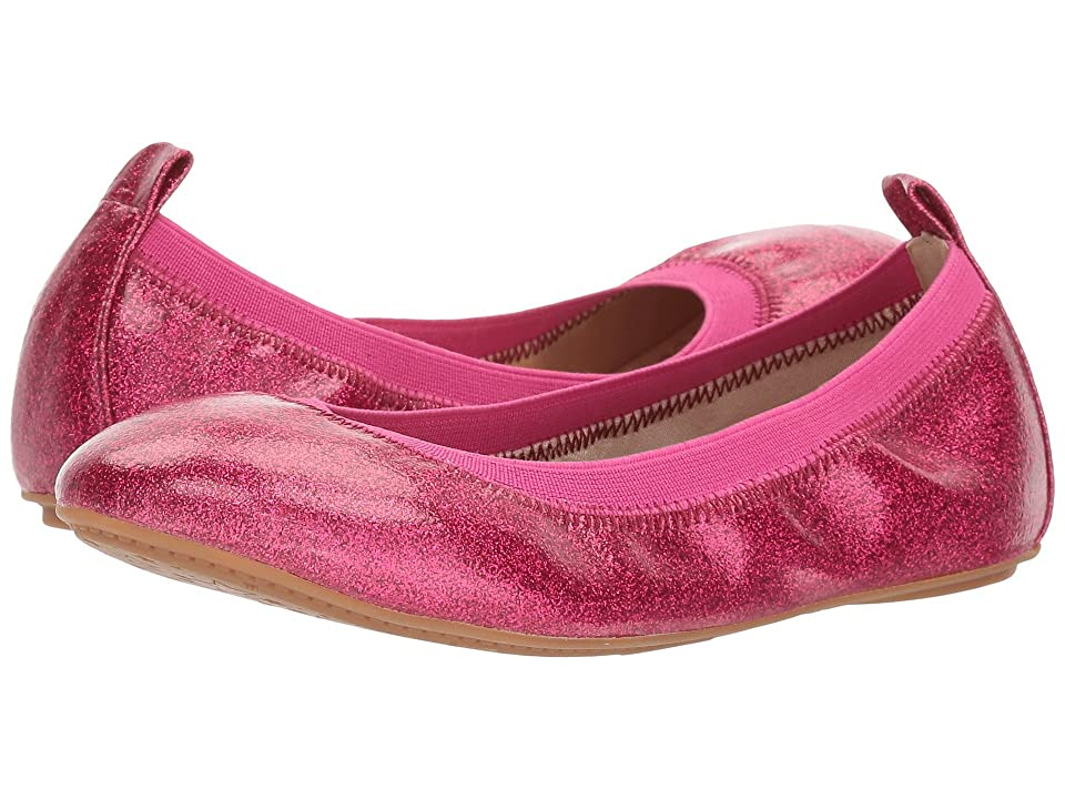Yosi Samra Kids Limited Edition Miss Samara (Toddler/Little Kid/Big Kid) (Berry Glitter Patent) Girls Shoes