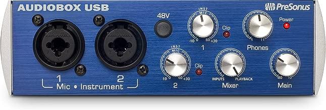 PreSonus AudioBox USB 2×2 Audio Interface – Includes Studio One
