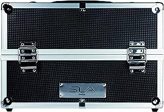 SLA Paris Pro Aluminium Make Up Case Black, Pack of 1
