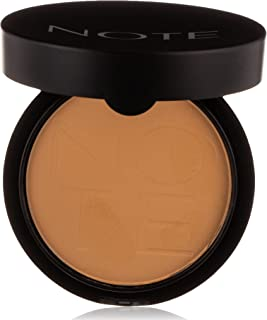 Note Luminous Silk Compact Powder 06 - Dark Honey