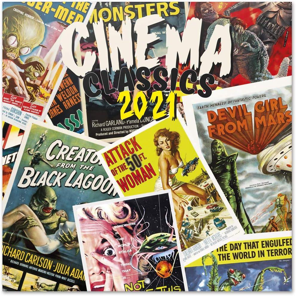 Grupo Erik Official Cinema Classics 2021 x Calendar Wall 11 Cheap super Rare special price 11.8