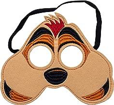 Kids Lion Animal King Mask Handmark Felt Safari Birthday Party Child Felt