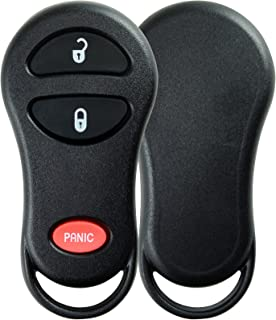 KeylessOption Just the Case Keyless Entry Remote Control Car Key Fob Shell Replacement for GQ43VT13T, GQ43VT17T, GQ43VT9T