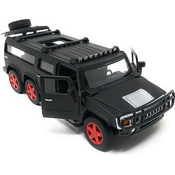 Akrobo Die-Cast Metal Car Pull Back 5 Openable Doors 6 Wheel Drive Light Music Operable Sunroof for Boys Girls Avobe 4 Years, 7.5-inch (Multicolour)