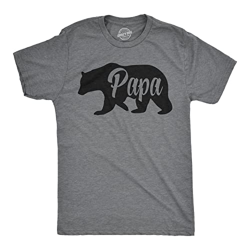 8e5eacae6 Mens Papa Bear Funny Shirts for Dads Gift Idea Novelty Tees Family T Shirt