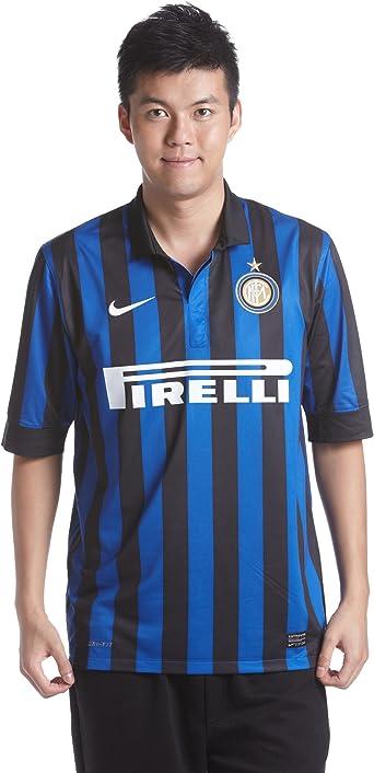 Amazon.com : NIKE Mens Inter Milan Home Stadium Jersey [Black ...