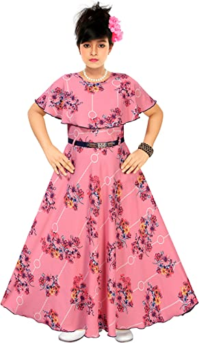 Floor Length Gown for Girls