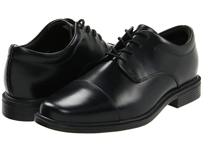 Rockport  Office Essentials Ellingwood (Black) Mens Lace Up Cap Toe Shoes