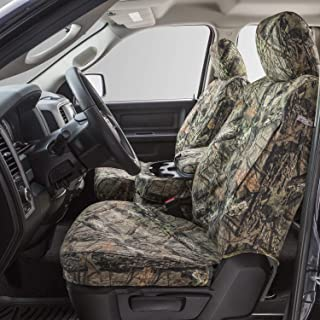 Covercraft - SSC7361CAMB Carhartt Mossy Oak Camo SeatSaver Second Row Custom Fit Seat Cover for Select Dodge Models - Duck Weave (Break-Up Country)