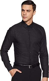 Max Men's Striped Slim Fit Formal Shirt