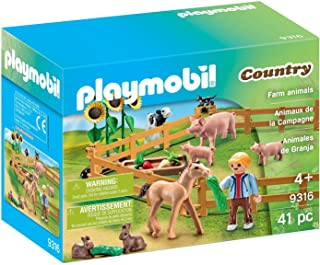 Playmobil 9316 Farm Animals, Multicolor