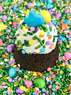 Hop To It Jimmies Candy Shapes Cupcake Cookie Baking Cake Decorations Party Favor Sugar Pearls NEW Easter Bunny Easter Sprinkles Mix