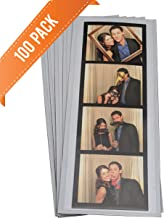 100 Magnetic Photo Booth Frames for 2