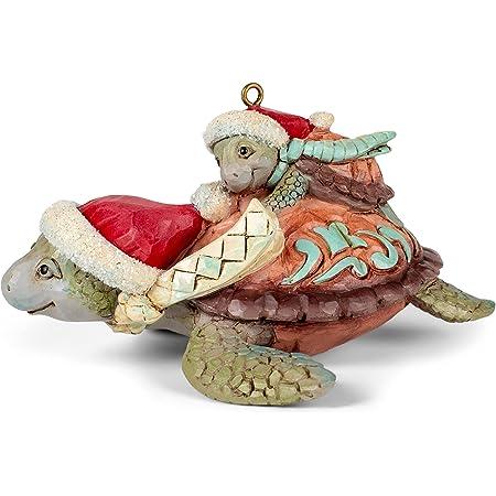 Enesco Jim Shore Heartwood Creek Christmas Sea Turtle Hanging Ornament