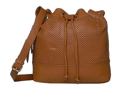FRYE AND CO. Anise Bucket Bag (Cognac) Handbags