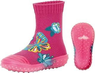Sterntaler Baby – flicka adventurestrumpor fjärilsstrumpor, per pack rosa (magenta 745), (tillverkarens storlek: