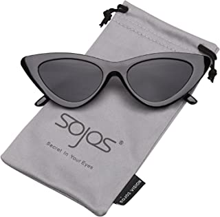 b825420818b SojoS Clout Goggles Cat Eye Sunglasses Vintage Mod Style Kurt Cobain Glasses  SJ2044