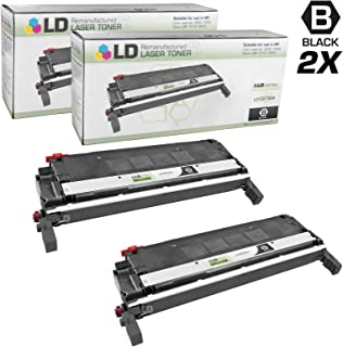 LD Remanufactured Toner Cartridge Replacement for HP 645A C9730A (Black, 2-Pack)