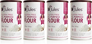 gfJules All Purpose Gluten Free Flour - Voted # 1 by GF Consumers, 1.5 lb Can, Pack of 4