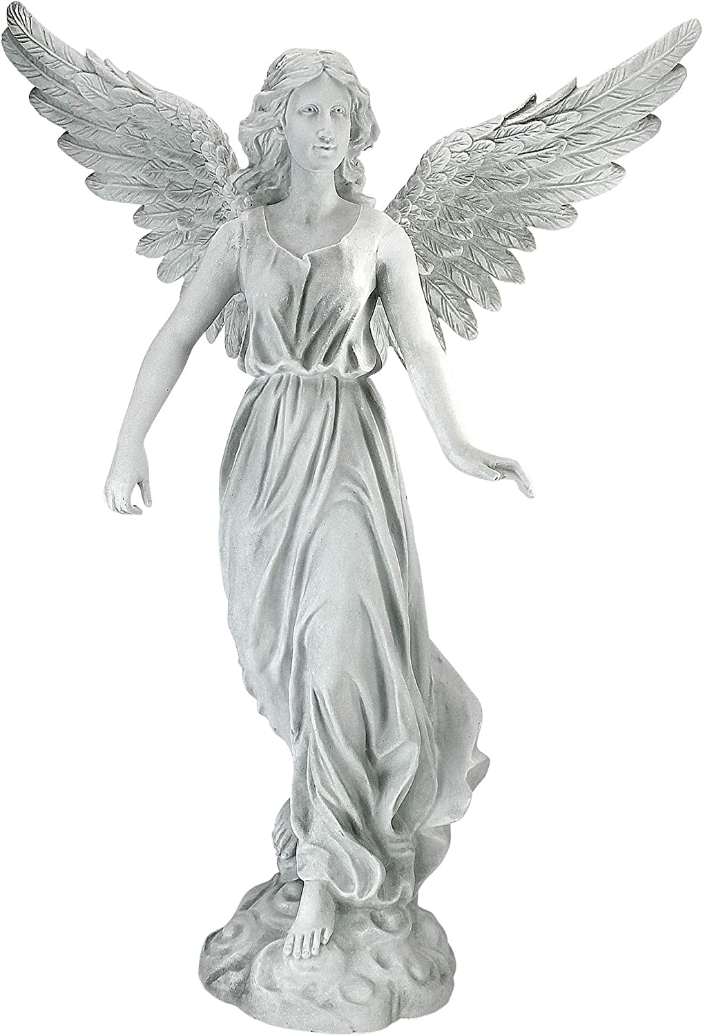 Design Limited time cheap sale Toscano Angel of Patience Medium Statue Polyre 21 Inch Austin Mall