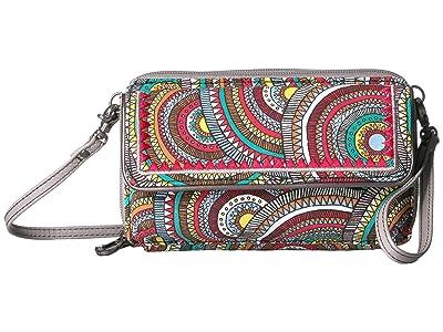 Sakroots Luna Smartphone Crossbody (Multi Mosaic Wanderlust) Cross Body Handbags