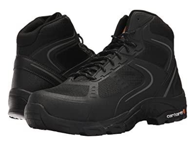 Carhartt Lightweight Work Hiker Steel Toe (Black Nylon Mesh) Men