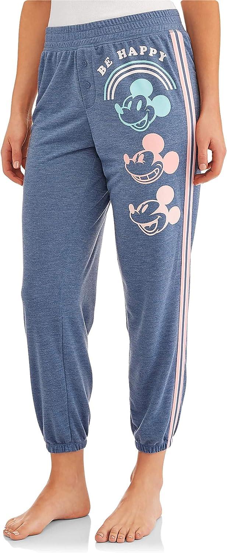 Disney Mickey Mouse 90 Years Be Women's Daily bargain sale Sleep Pants Jogger Omaha Mall Happy