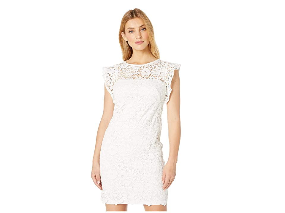 LAUREN Ralph Lauren Afiya Dress (White) Women